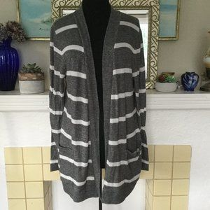 Old Navy Large Lightweight Striped Cardigan